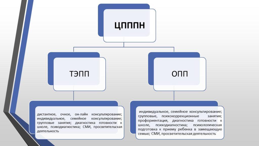 Структура и услуги