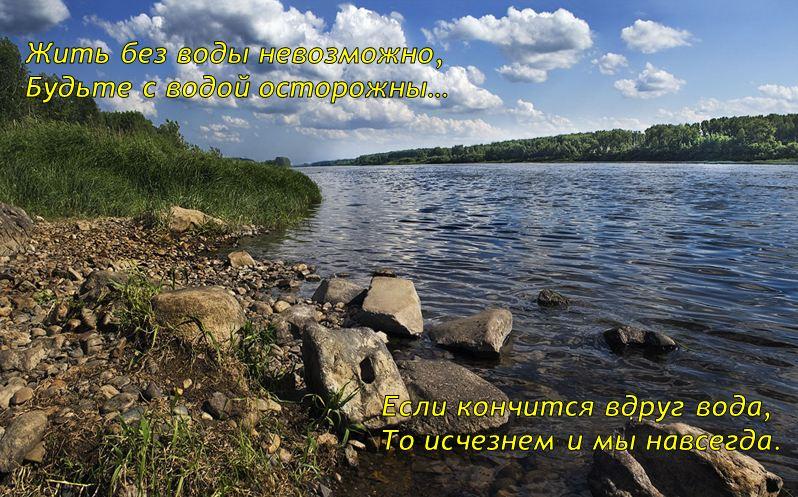 Поддерживаем областную природоохранную акцию «Чистая река — чистые берега»